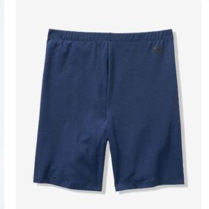 Victoria's Secret Blue BIKE shorts HIGH WAIST m